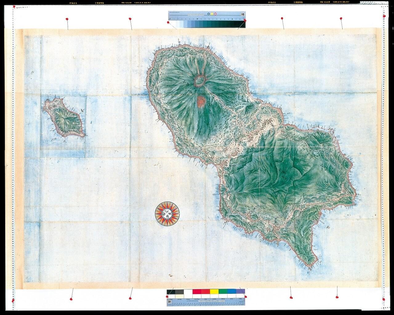 高特殊図八丈島